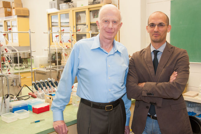 John O. Holloszy, MD (left) and Luigi Fontana, MD, PhD, are leading research efforts aimed at determining whether calorie restriction can slow the progress of aging and lengthen life in humans.